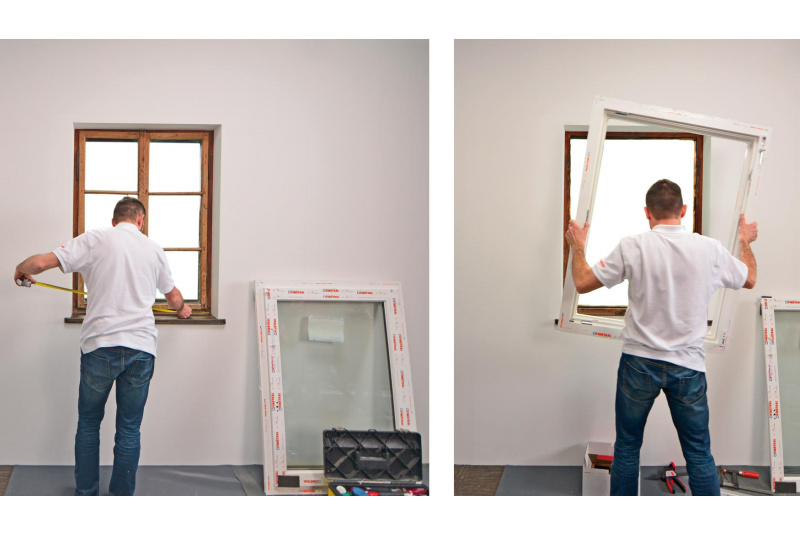 PVC langų keitimo darbuotojai (os)