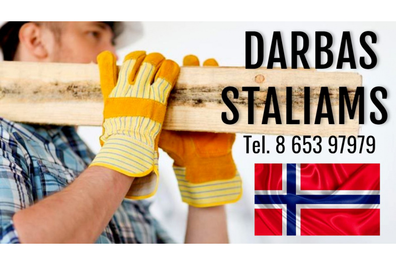 Darbas Staliams Norvegijoje