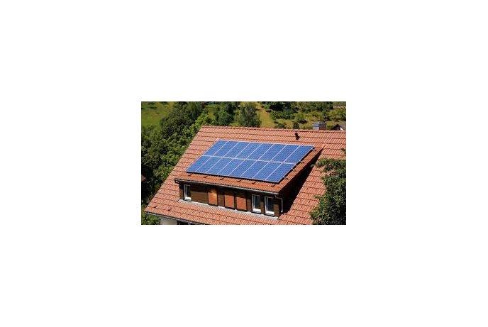 Saulės kolektorių montavimas