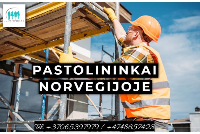 Darbas pastolininkams Norvegijoje