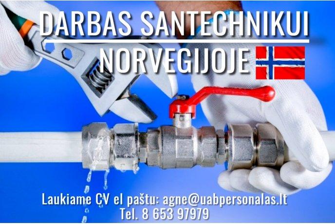 Darbas santechnikams Norvegijoje